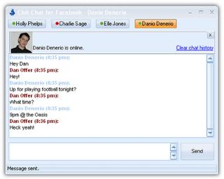 facebook-chat-client
