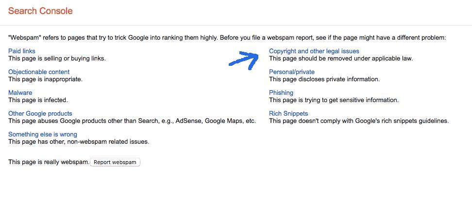 Google plagiarism report tool