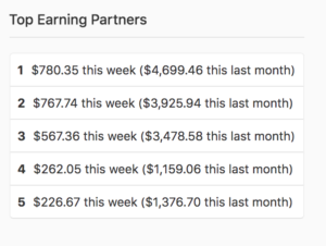 quora top earning partners